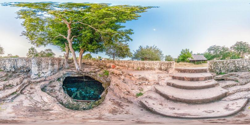 Cenote Noc Ac (Kambul) im Norden von Mérida