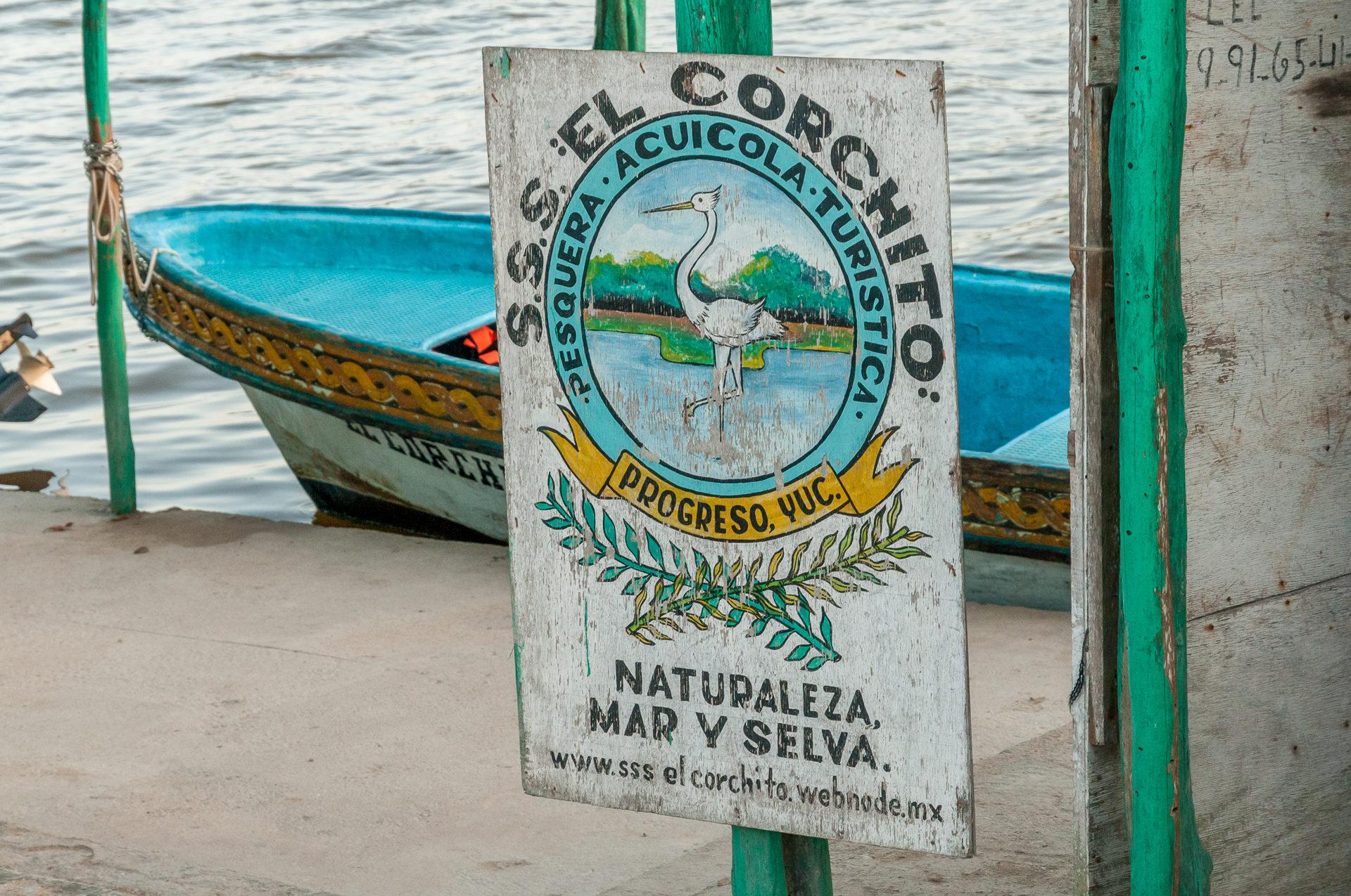 Boote zu dem Naturschutzgebiet